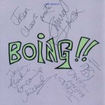 Signed copy of Boing!! (1/2 May 1993)